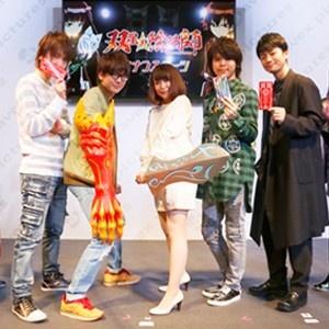 福山潤の自由な収録模様も明かされた「双星の陰陽師」27日ステージ【AnimeJapan 2016】