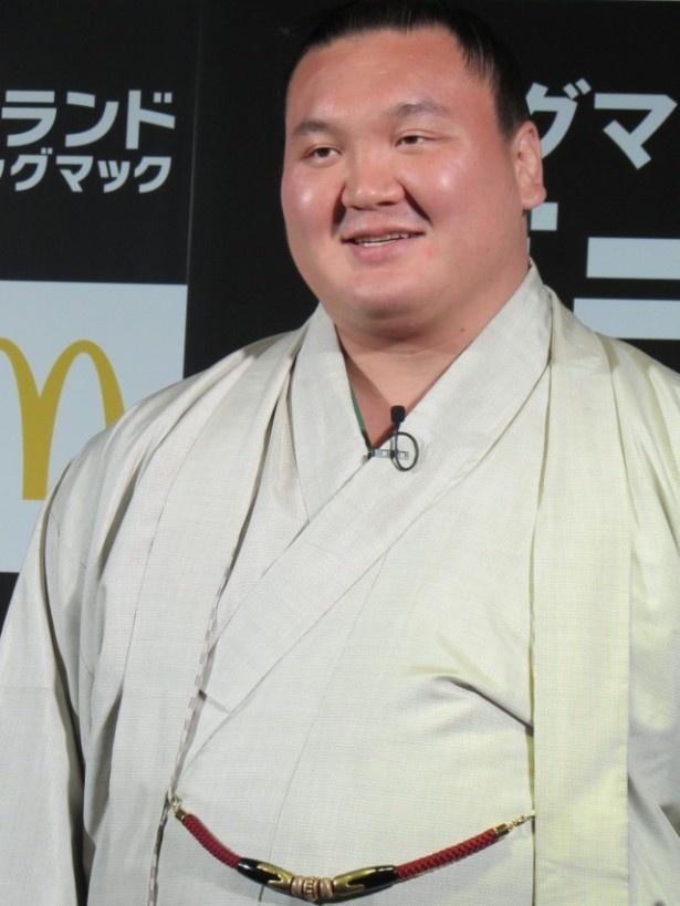 白鵬は「'20年の東京オリンピックまで現役を続けたい」と語る