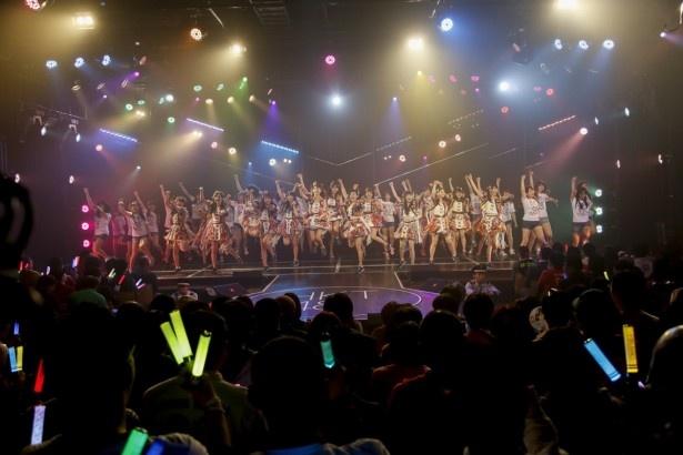 HKT48劇場移転前最終公演日の模様