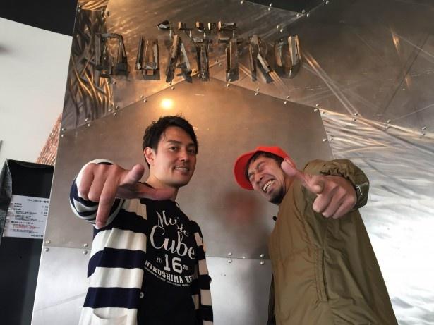 MCはキムラミチタ(ラジオDJ)、宮脇靖知(広島テレビアナウンサー)