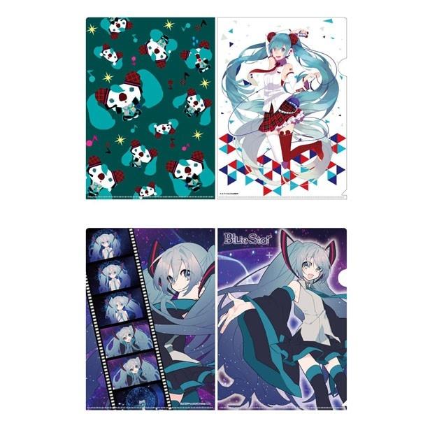 パルコ限定「クリアファイル」(各378円)。写真上がコラボバージョン、下が、Blue Starバージョン