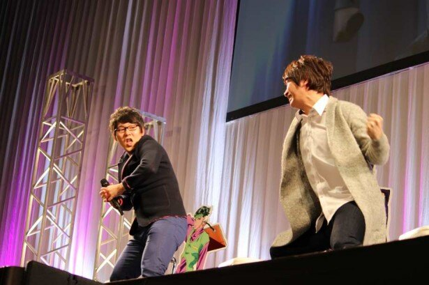 小野友樹、櫻井孝宏、小野大輔がジョジョ愛を語った「ジョジョの奇妙な冒険 ダイヤモンドは砕けない」放送直前ステージ【AnimeJapan 2016】