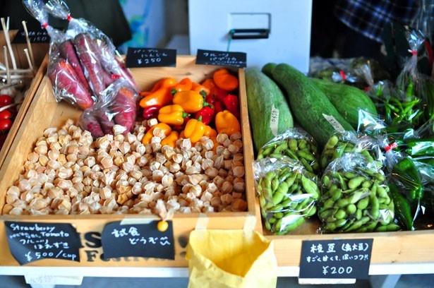 【写真を見る】「NISEKO LaLaLaFarm」からは、自然栽培野菜をはじめ加工品や蒸しパンが販売される