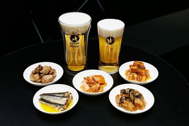 缶詰めは、赤鶏さつま炭火焼や鮭ハラス燻製油漬けなど5種類から選ぶことができる