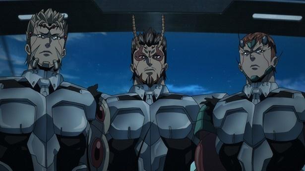 """""""テラフォーマー""""と""""エイリアンエンジンウイルス""""という2つの悪夢を断ち切るため、特殊な手術で人体を強化された戦士たち"""