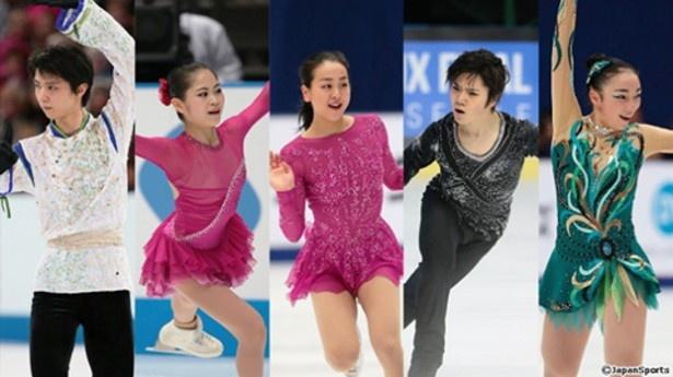 「世界フィギュアスケート選手権2016」のノーカット配信がFODで行われる