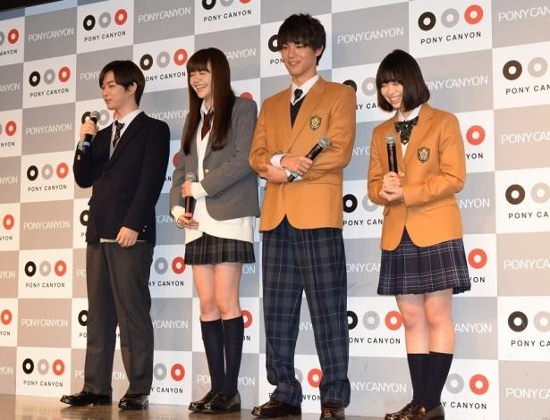 【写真を見る】千葉の「学生時代は昨日のことのように…」発言に一同大爆笑!