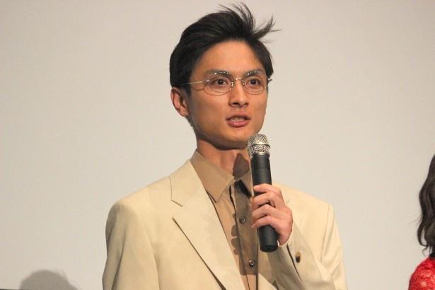 芥川龍之介役の高良健吾