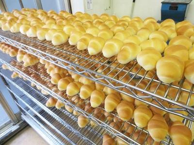 こんがり焼きたてのロールパン。10個入りの「小ロール」で610円(「ペリカン」)