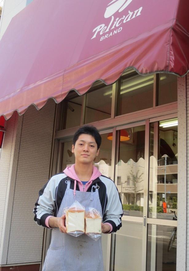 「ペリカン」の4代目店主・渡辺陸さんは、28歳の若旦那。「最近はカフェが増えました」と蔵前エリアの移り変わりを語ってくれた