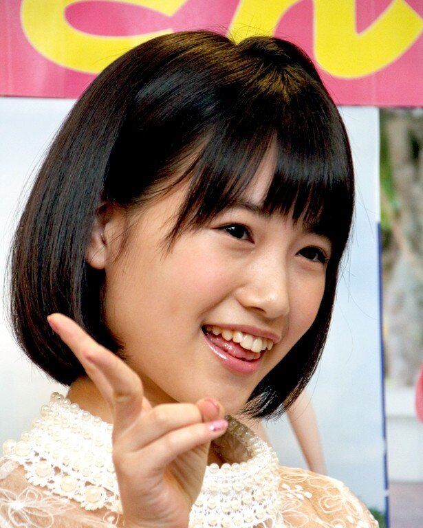 「AKB48 45thシングル 選抜総選挙」(6月18日)について「ことしは必ず選抜に入りたいなって思っているんですけど、HKT48メンバーがたくさんランクインできるといいな」と目標を語った