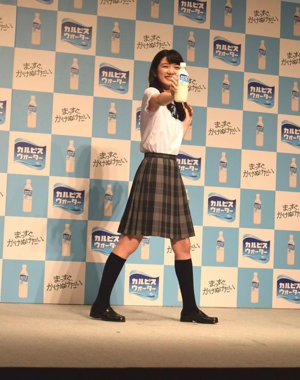 【写真を見る】ことし大ブレークを予感させるフレッシュ女優・永野芽郁は元気いっぱい!