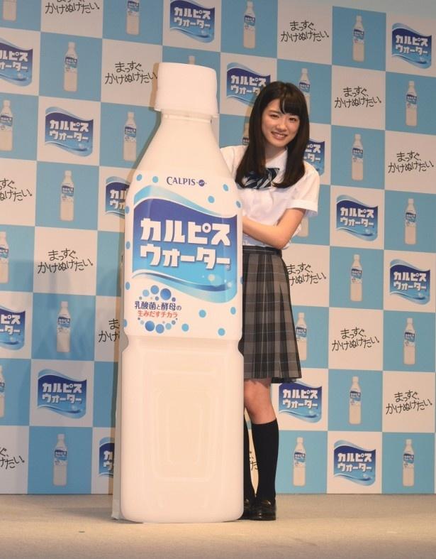 第13代カルピスウォーターCMキャラクターに起用された永野芽郁