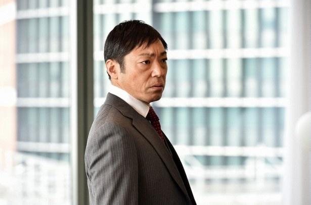 「99.9―」で香川照之は松本演じる深山の上司で企業弁護士のトッププレーヤー・佐田を演じる