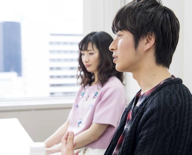武田の誘惑する演技に対し、村井は「満点」と評価