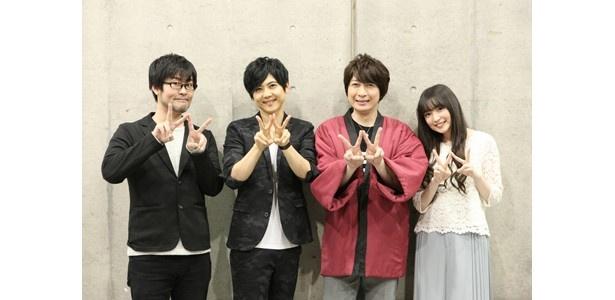 悪役シーマイヤーを梶裕貴が好演「Dimension W」ステージ【AnimeJapan 2016】
