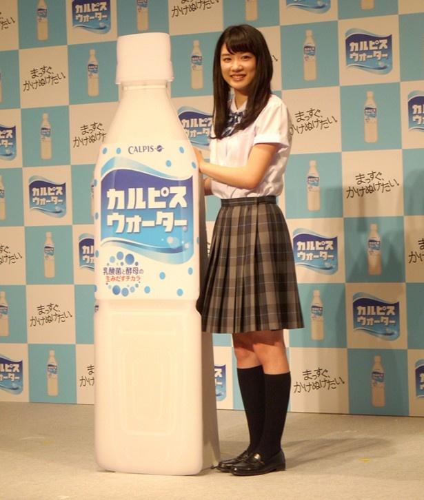 キラキラの笑顔で駆け抜けるCMは永野芽郁にピッタリ!
