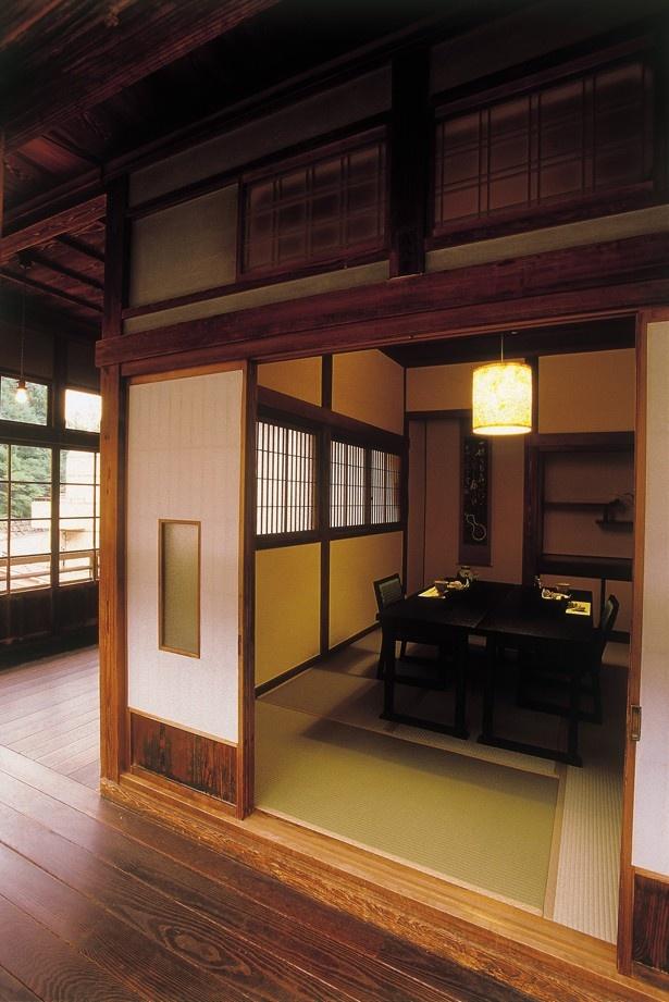 和の空間で感じる日本の心