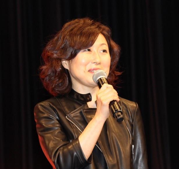 毛利蘭役の山崎和佳奈