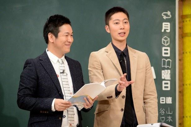 実は腎臓がんの手術を受けていたことを明かしたはんにゃ・川島章良と相方の金田哲(写真左から)
