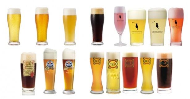 肉フェス限定醸造の「天使のレッドビール」などドリンク類も豊富