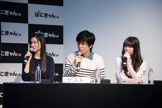 阿座上洋平、M・A・O、上田麗奈がアフレコ現場で見せる意外な一面!?「クロムクロ」ステージ【AnimeJapan 2016】