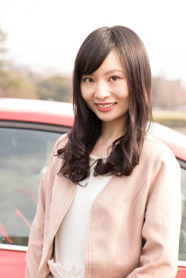 「とても気に入りました」と語る、モデルの榊原莉奈さん