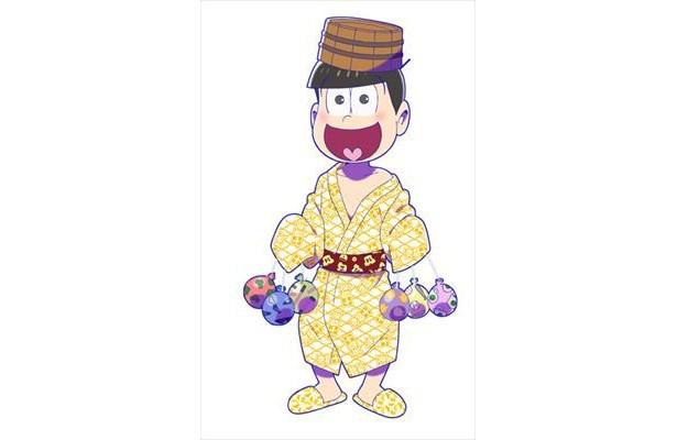 浴衣&入浴中の6つ子が愛でられる!「おそ松さん」×大江戸温泉物語コラボイベント開催