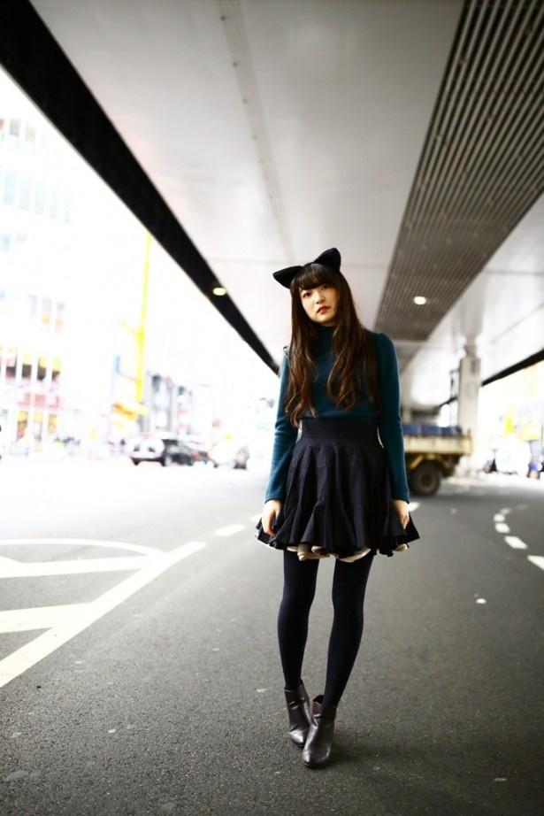 上田麗奈フォトコラム第12回・猫の気持ちで六本木の街を歩いたら…?