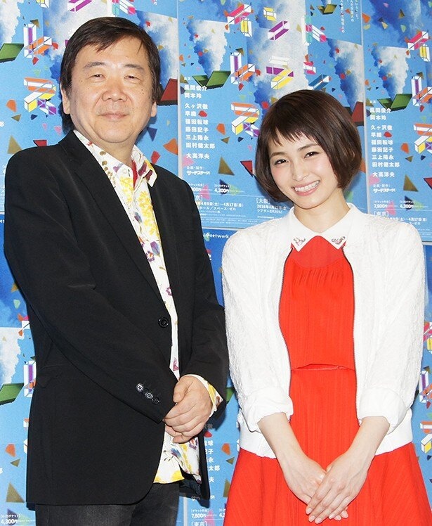 「イントレランスの祭」取材会に出席した鴻上尚史、岡本玲