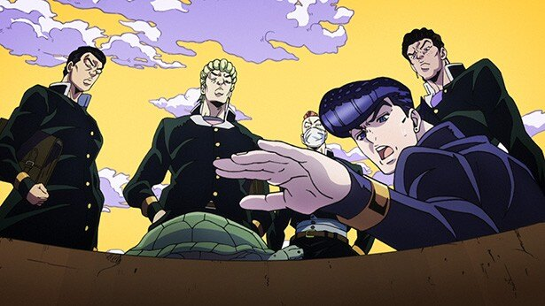 新アニメ「ジョジョの奇妙な冒険 ダイヤモンドは砕けない」第1話カットを紹介!