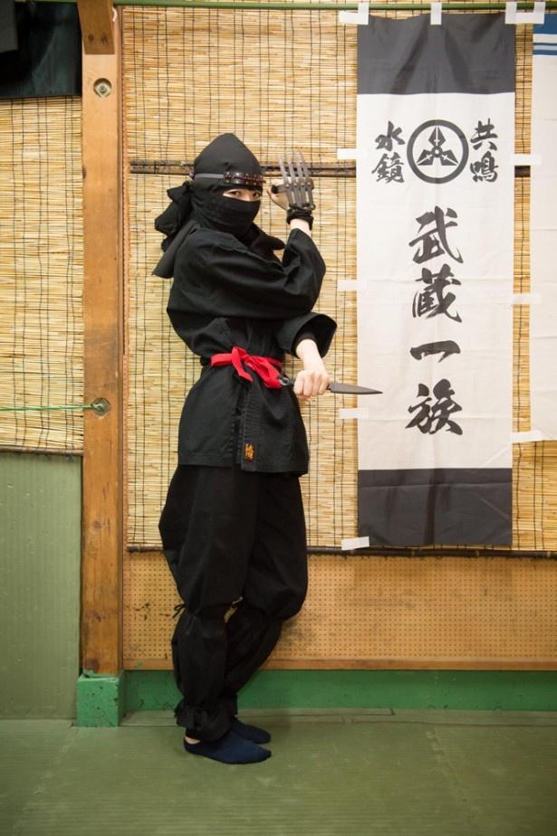 青木瑠璃子、忍者道場に弟子入りで江戸隠密に!?