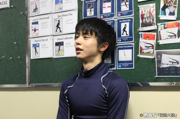 4月10日(日)、記念すべき900回目の放送となる「情熱大陸」(TBS系)で、フィギュアスケーター・羽生結弦選手に密着