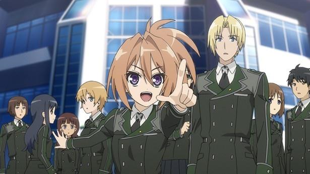 新アニメ「ハンドレッド」第1話カット到着。ハヤトとクレアのデュエルの行方は!?