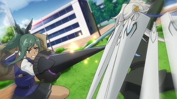 「ハンドレッド」第2話先行カット到着! ハヤトが全身武装展開で挑む!!