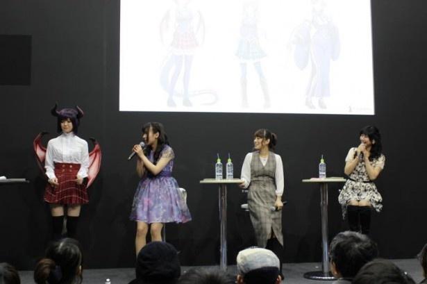 日笠陽子のアニメのお供はからあげ? もずく? 「マナリアフレンズ」ステージ【AnimeJapan 2016】