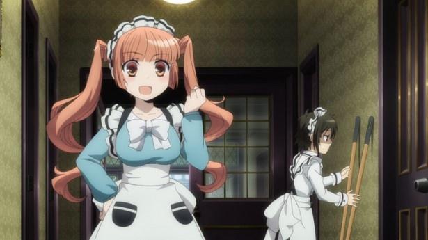「少年メイド」第2話先行カット到着。千尋に弟子入り志願の美少女が来訪!