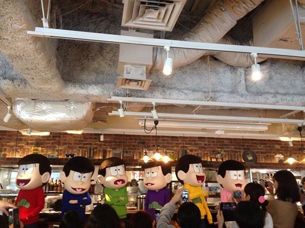 6つ子たち、タワーレコード渋谷店、そして釣り堀に現る! どうした、ニート!?