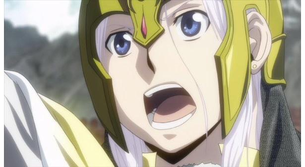テレビアニメ「アルスラーン戦記」2期から、アルスラーン&ダリューンの新ビジュアル到着!