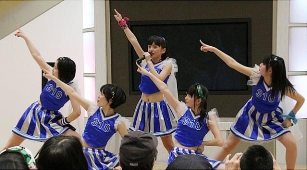水戸ご当地アイドル(仮)が、イベントで新曲と新衣装を発表