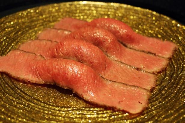 肉の匠 将泰庵「和牛握り寿司」