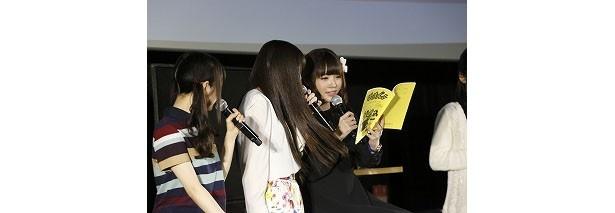 """「ばくおん!!」を""""爆音""""で観る先行上映会で上田麗奈たちがぶぉん!ぶぉん!!"""