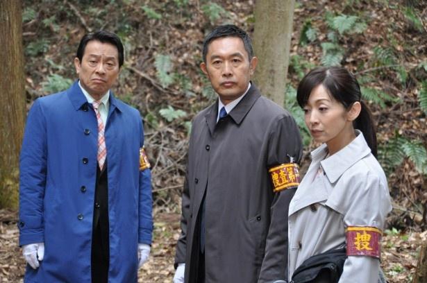 「警視庁・捜査一課長」では、金田明夫、内藤剛志、斉藤由貴の3人の掛け合いも見もの!