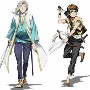 テレビアニメ「アルスラーン戦記」2期から、ナルサス&エラムの新ビジュアル到着!