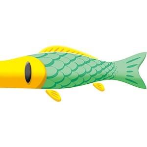 プチプチ・アニメ「ニャッキ!」が鯉のぼりになって東京ミッドタウンの空を泳ぐ!