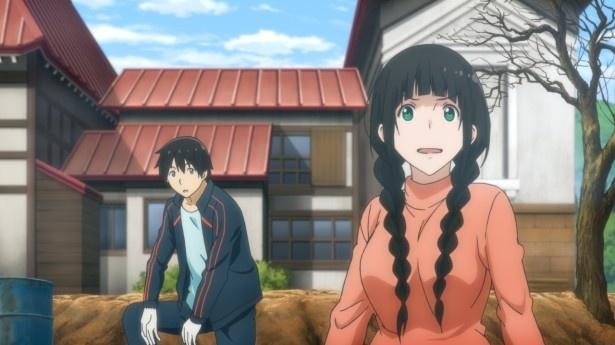 「ふらいんぐうぃっち」第3話先行カットが到着。真琴の姉・茜が登場!