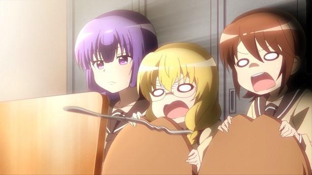 TVアニメ「三者三葉」第3話先行カット&あらすじが到着!葉子がケーキ屋でアルバイト?