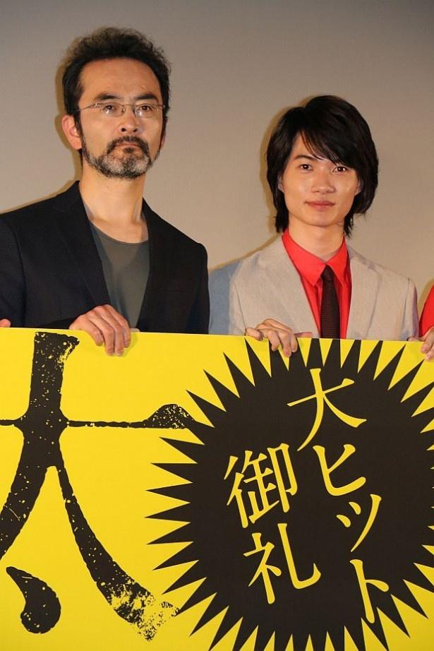 映画『太陽』の初日舞台挨拶が開催された