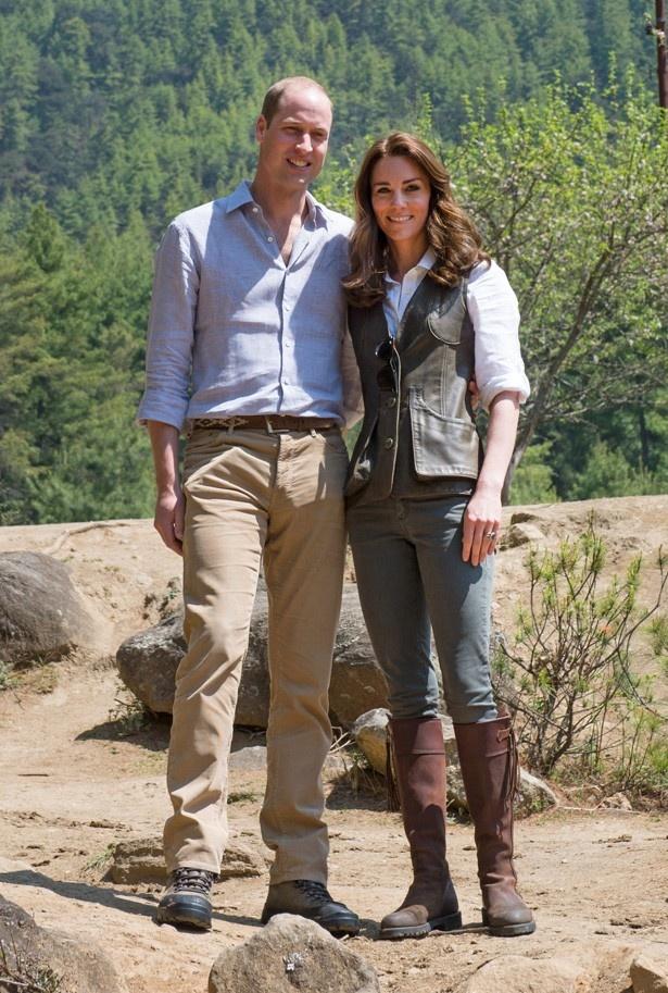 愛用のブーツでハイキングを楽しんだキャサリン妃
