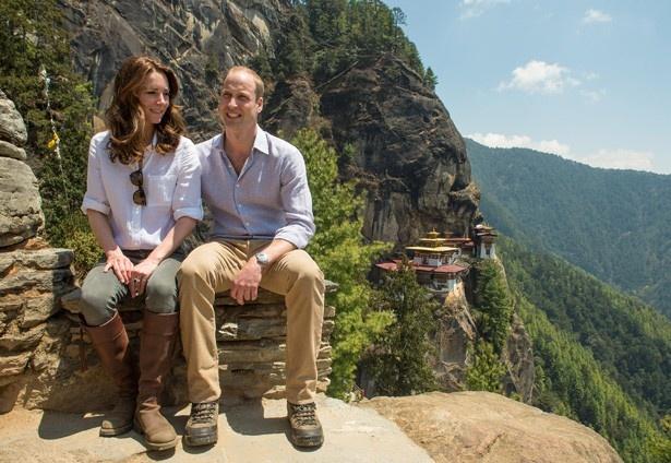 ウィリアム王子と共にインドからブータンを訪れたキャサリン妃